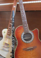 Guitars and clarinet